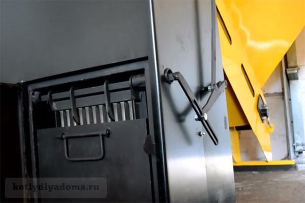 Автоматическая очистка колосников в котле «Ямал»
