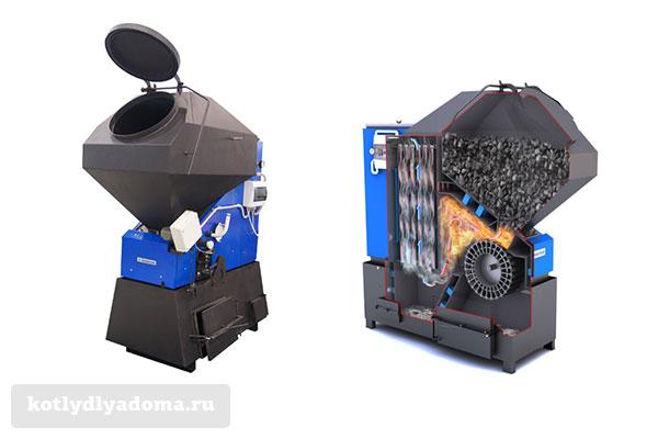 Автоматический котел на угле «Прометей Автомат»