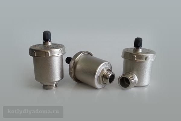 Автоматический воздухоотводчик 1/2 для отопительной системы
