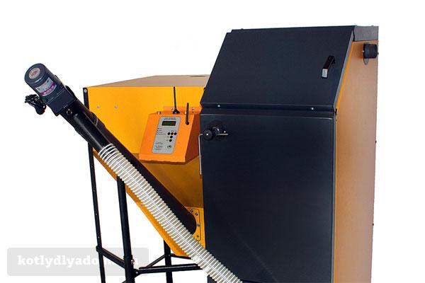 Автоматизированный котел «Валдай» на топливных гранулах