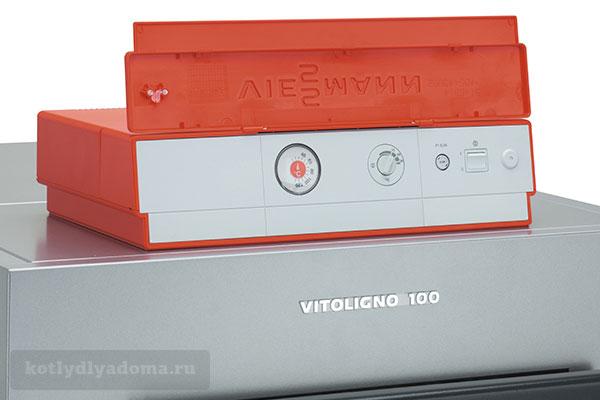 Пульт управления котлом с водяным контуром «Viessmann» Vitoligno 100 S