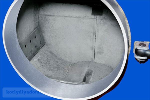 Загрузочная камера пиролизного котла на твердом топливе «Мотор Сич»
