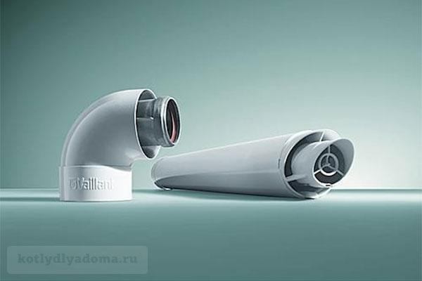 Коаксиальная дымовая труба «Vaillant» 60/100 для газового котла