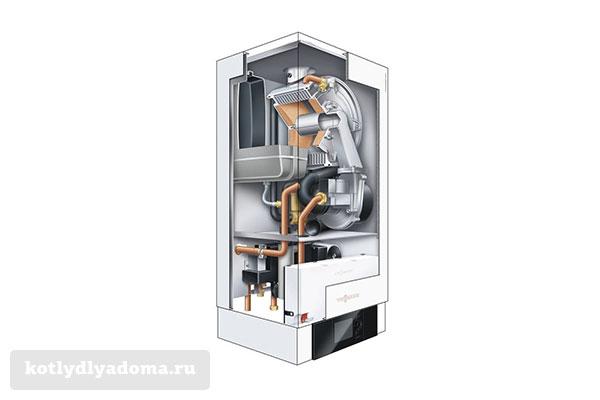 Принцип действия конденсационного газового котла
