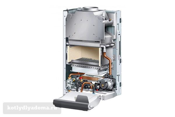 Конвекционный газовый котел настенного типа