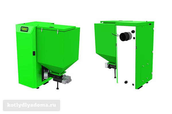 Котел автомат на пеллетах «Костржева Farmer Bio» производства Польша