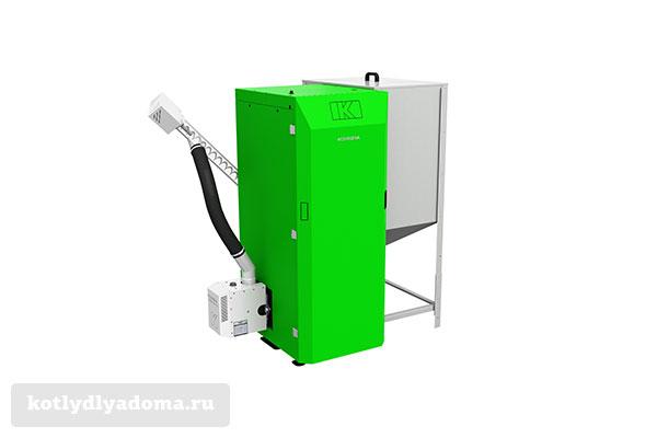 Напольный котел отопления «Kostrzewa Twin Bio» на пеллетах