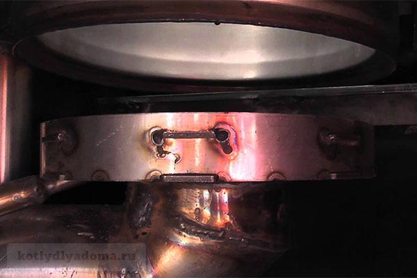 Горелка для пеллет котла «Светлобор» с функцией самоочистки