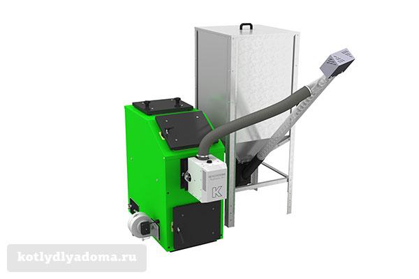 Бытовой котел на топливных гранулах «Kostrzewa Pellets 100»