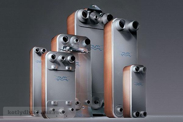 Теплообменник для двухконтурного газового котла Пластины теплообменника Alfa Laval TL10-BFG Чебоксары