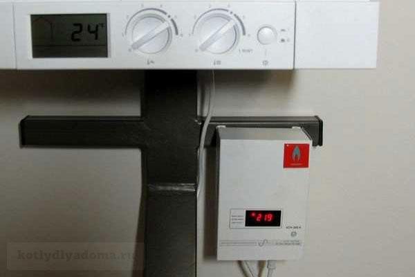 Монтаж настенного стабилизатора напряжение для газового котла