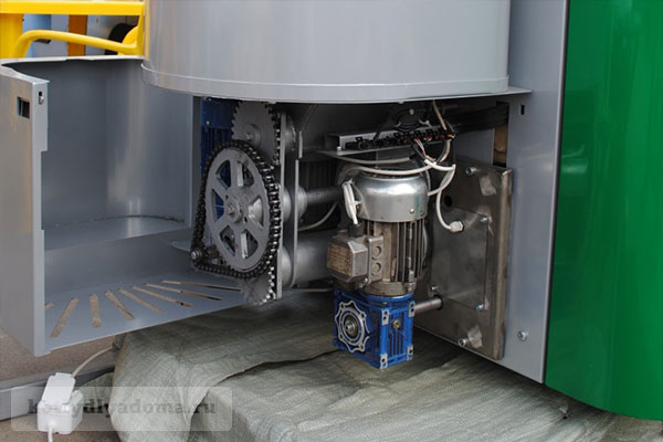 Шнековая система подачи топлива в твердотопливный котел «Светлобор»