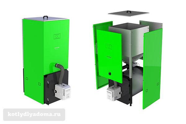 Котел отопления «Kostrzewa Mini Bio» на пеллетном топливе
