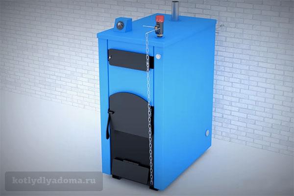 Твердотопливный пиролизный котел «Траян» производства Россия