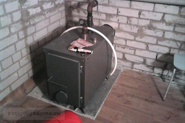 Установка и подключение водяного котла «Warmos» TT