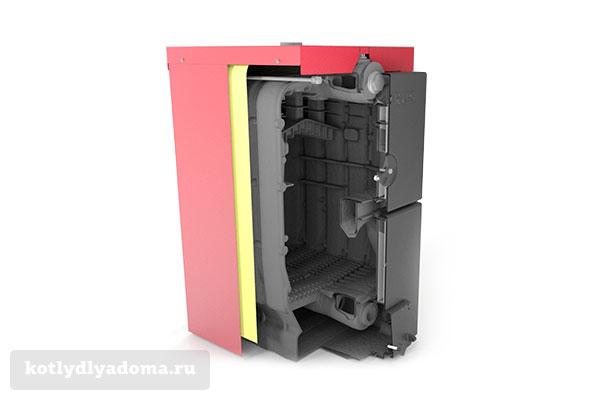 Устройство котла с водяным контуром «Виадрус» U22 C/D