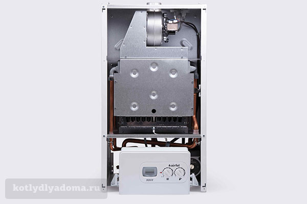 Принцип работы газового котла с закрытой камерой сгорания