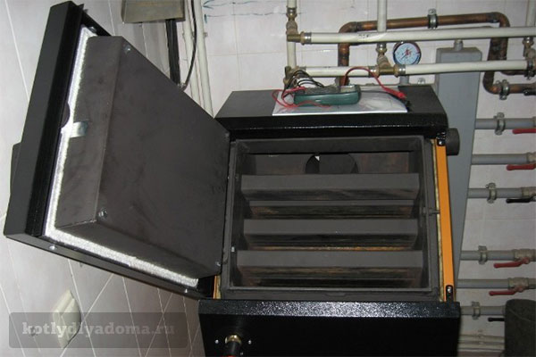 Пеллетный котел отопления «Валдай» от завода Общемаш
